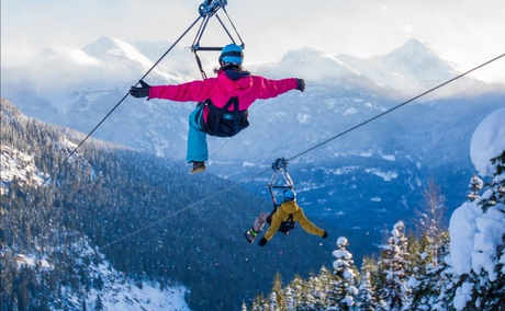 Superfly Zipline Tours, Whistler Canada