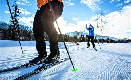 Cross Country Skiing, Whistler Canada