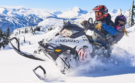 Canadian Wilderness Whistler - Snowmobile tours